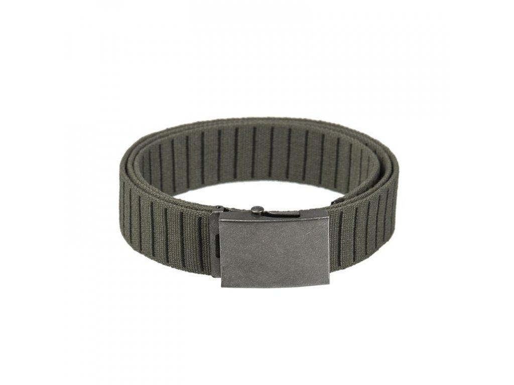 Pásek do kalhot MIL-TEC STONE 40 mm Olive