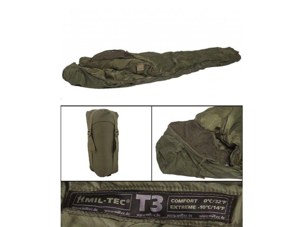 Spací pytel MIL-TEC Tactical 3 Olive