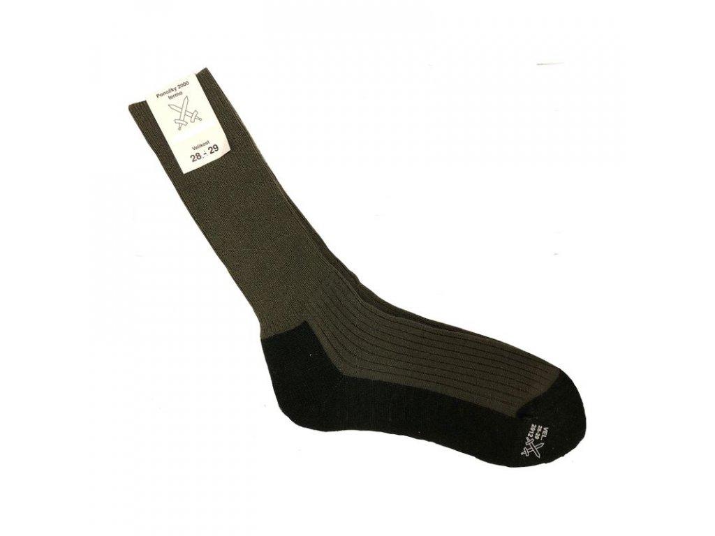 Ponožky AČR 2000 Termo