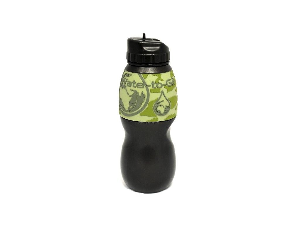 Láhev filtrační Water-to-Go 75cl Jungle