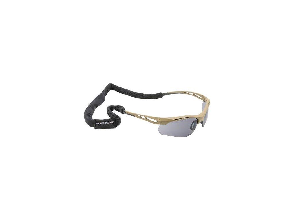 Multifunkční pásek na brýle SWISS EYE® E-TAC Black