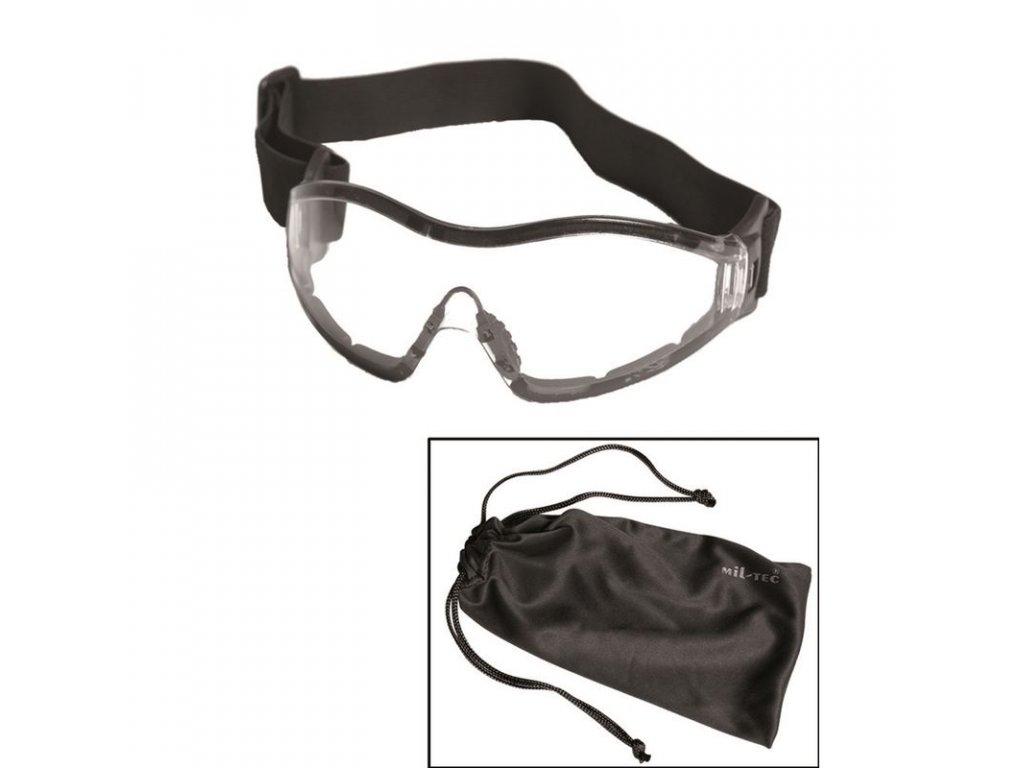 Brýle ochranné MIL-TEC PARA - čirá skla