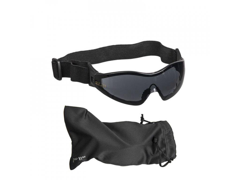 Brýle ochranné MIL-TEC PARA - kouřová skla