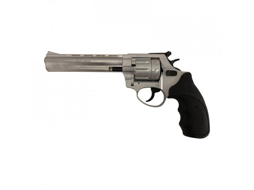 """Flobertkový revolver Atak Arms Streamer R1 6"""" Matný chrom cal. 6mm"""