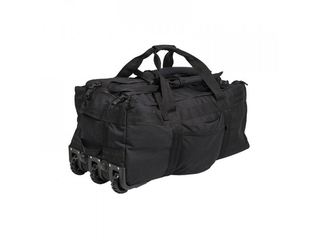 Bojový vak na výstroj s kolečky MIL-TEC 118l Black