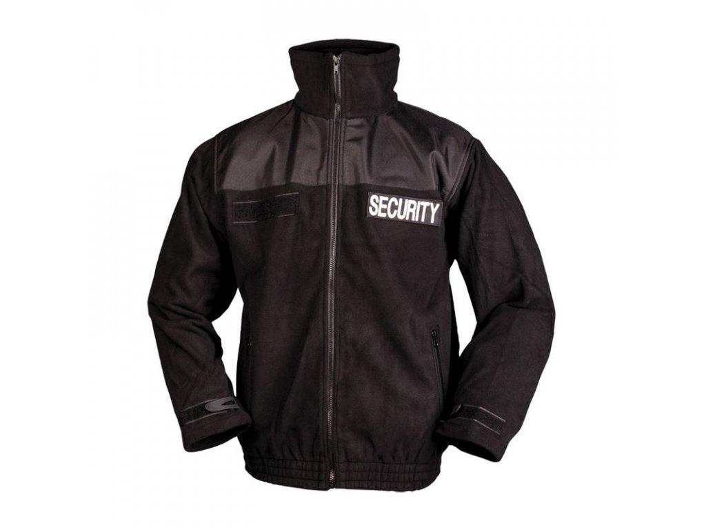 Bunda MIL-TEC FLEECE Security Černá