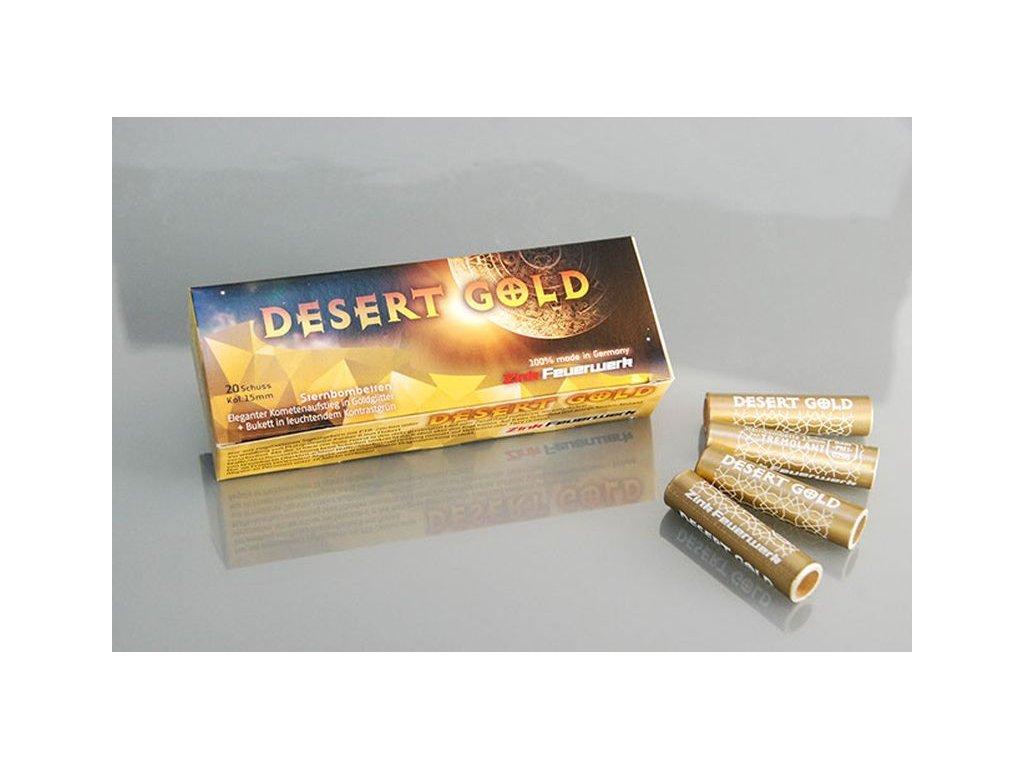 Pyro světlice Zink Desert Gold 20ks
