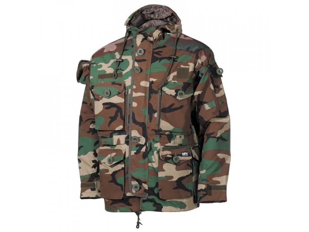 Kabát Max-Fuchs Commando Smock Woodland