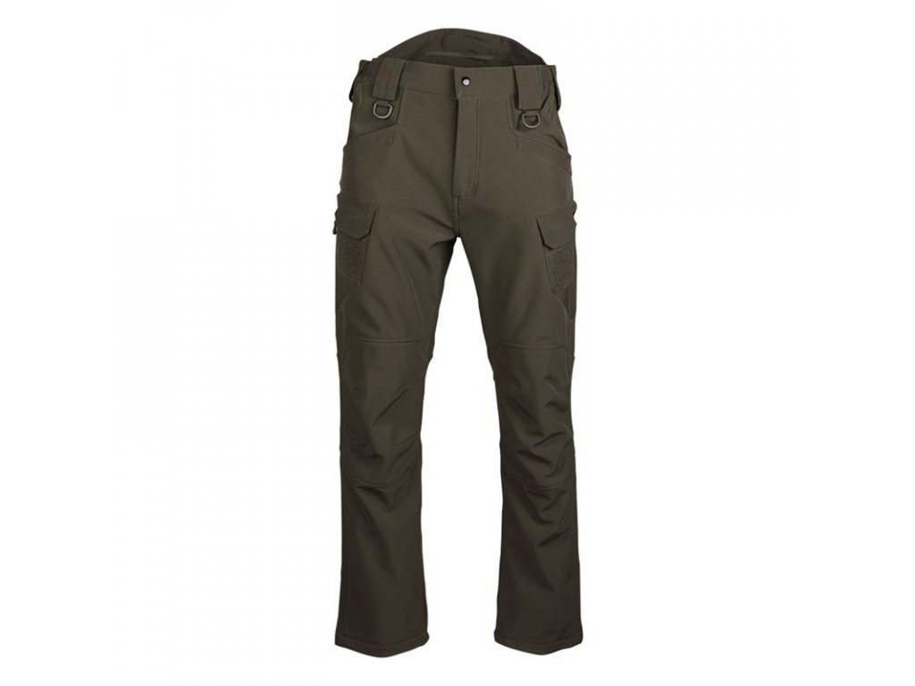 Kalhoty MIL-TEC Softshell Assault Olive