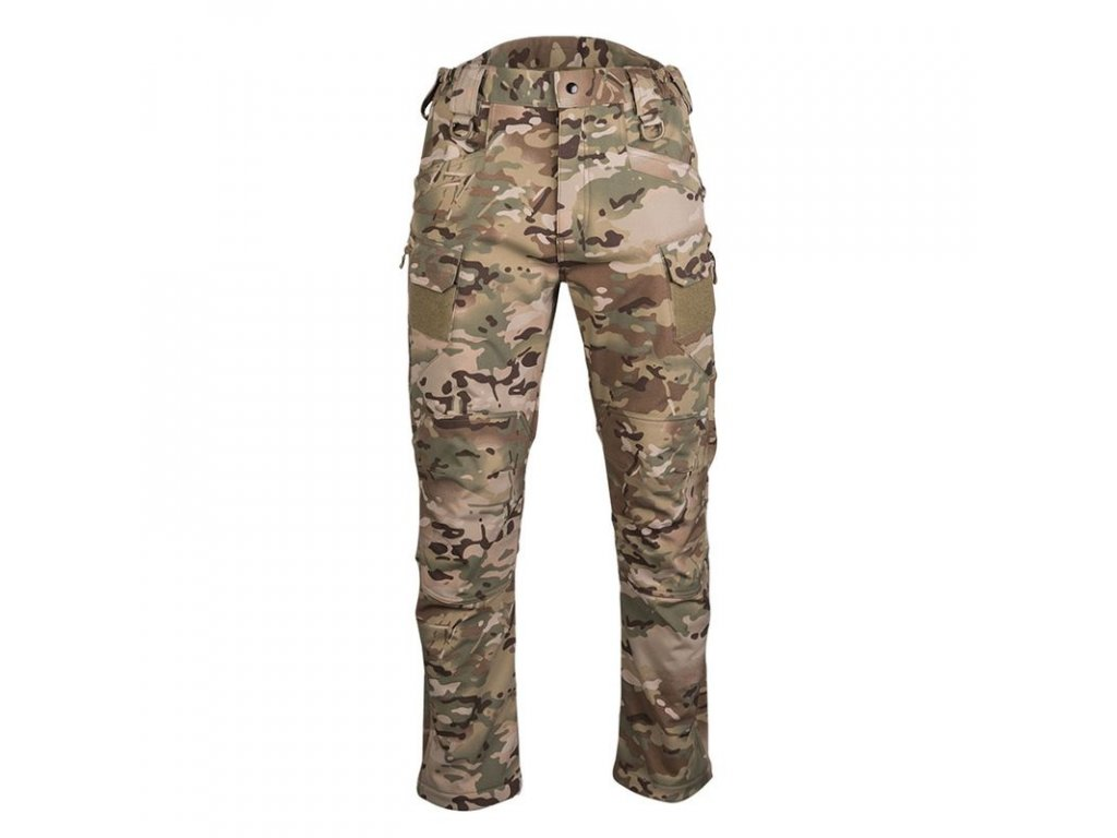 Kalhoty MIL-TEC Softshell Assault Multitarn®