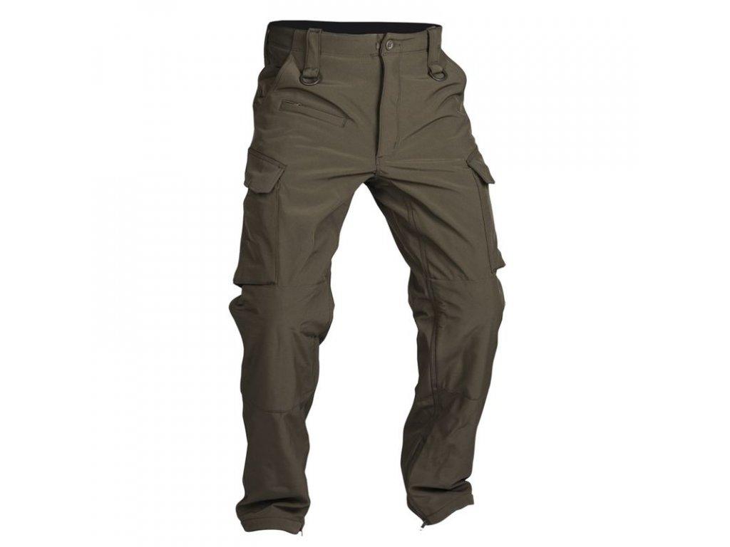 Kalhoty MIL-TEC Softshell Explorer Olive