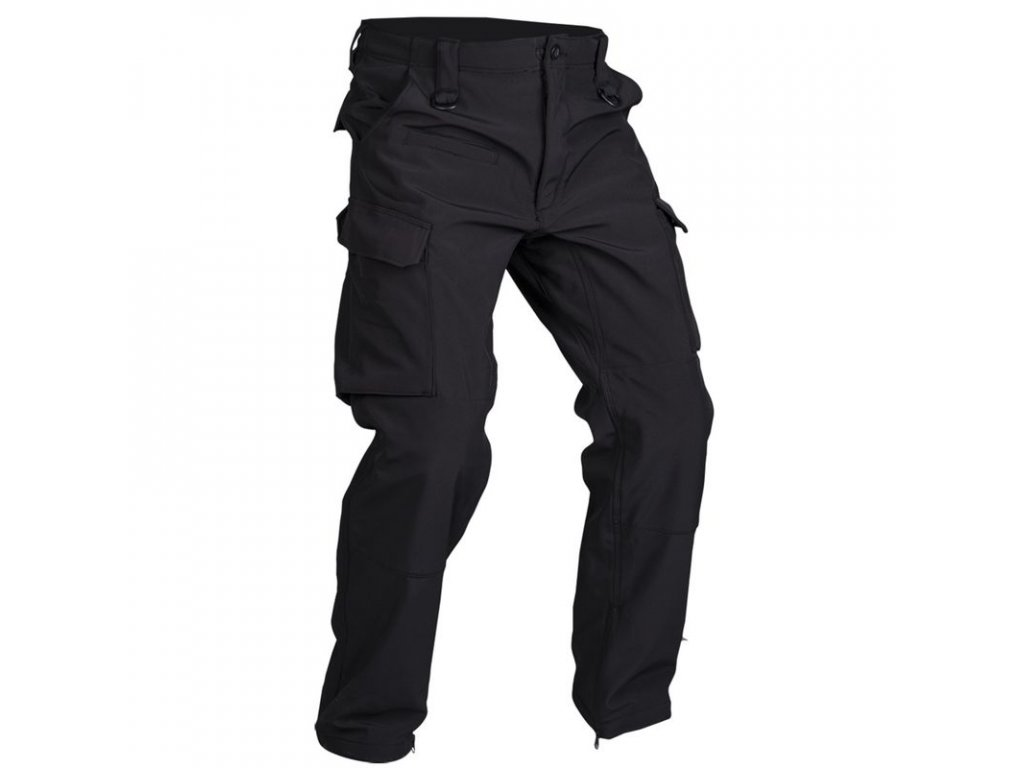 Kalhoty MIL-TEC Softshell Explorer Black