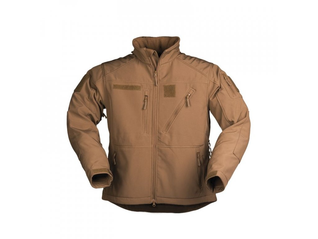 Bunda MIL-TEC Softshell SCU 14 Dark Coyote