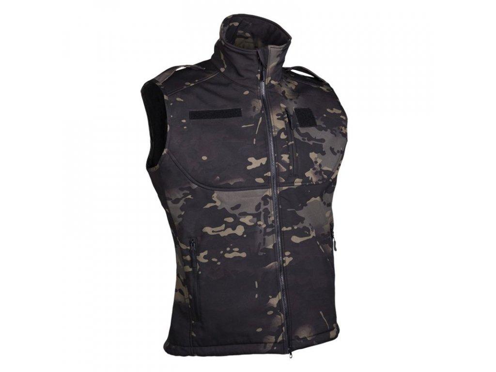 Vesta MIL-TEC Softshell Multitarn Black®