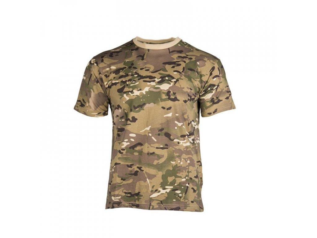 Tričko dětské MIL-TEC krátký rukáv Multitarn®