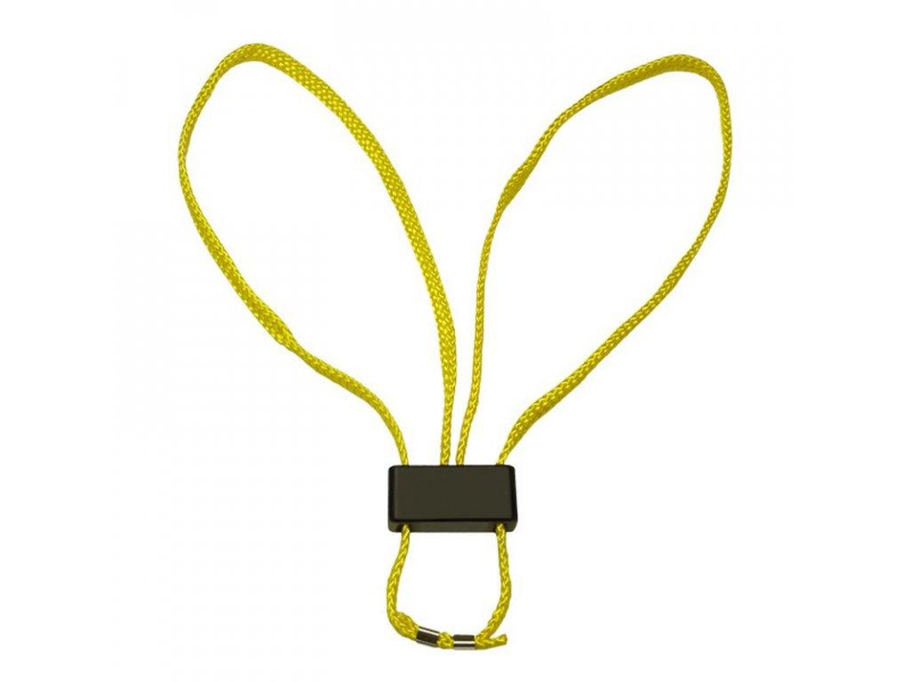 Pouta ESP jednorázová textilní – žlutá, sada 5 ks