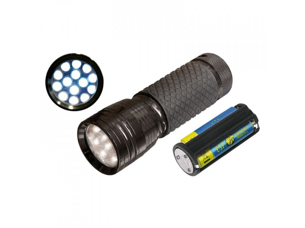 Svítilna ESP duralová - 14 LED