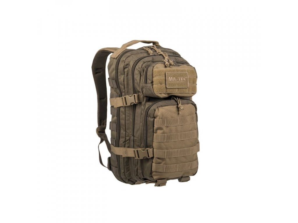 Batoh MIL-TEC US Assault Pack SM 20l RANGER Green/Coyote