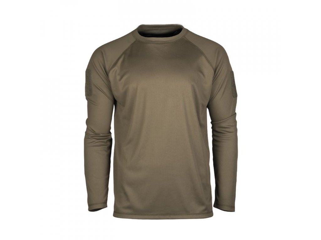 Tričko MIL-TEC Tactical rychleschnoucí Olive
