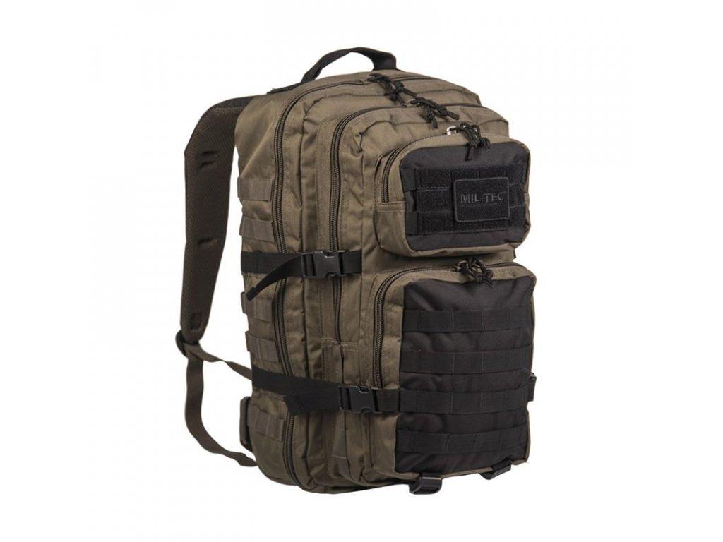Batoh MIL-TEC US Assault 36l Green/Black