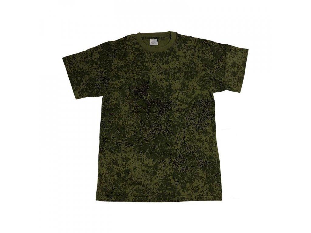 Tričko MMB krátký rukáv US styl Zifra Flora