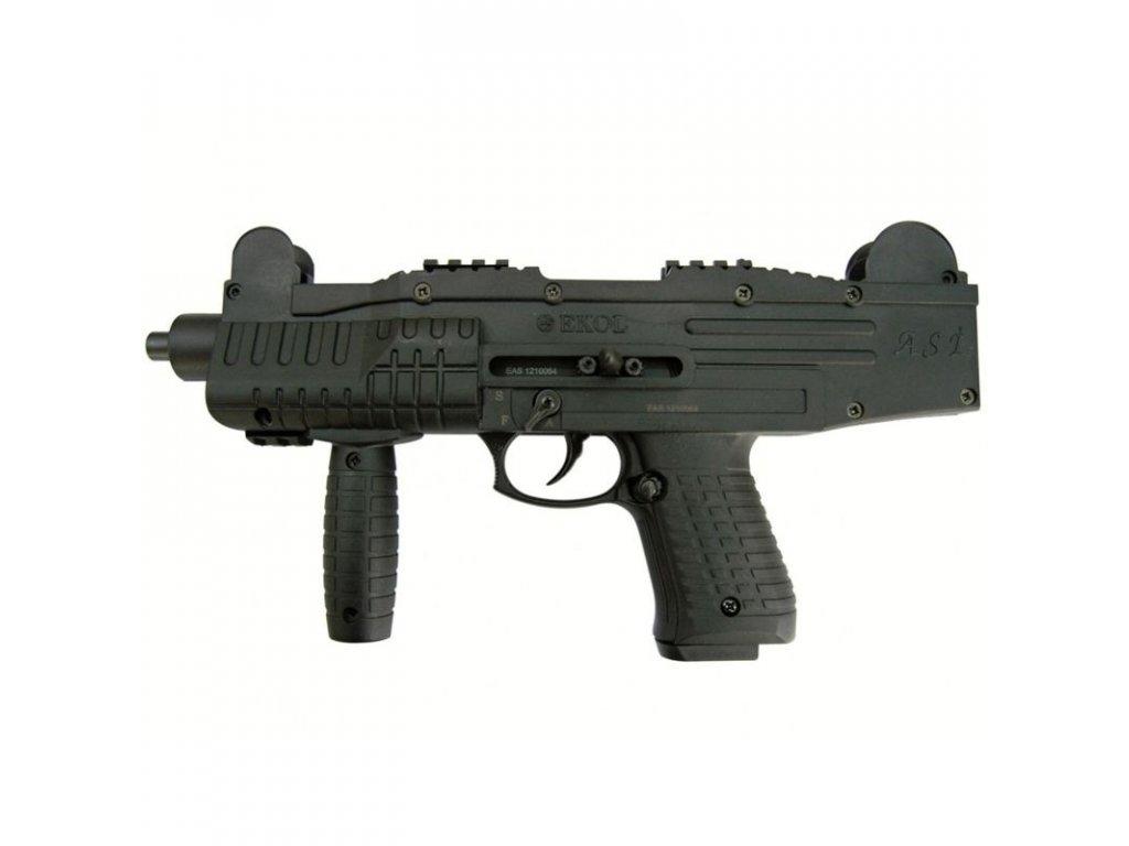 Plynová pistole Ekol/Voltran ASI Černá cal. 9 mm P.A.