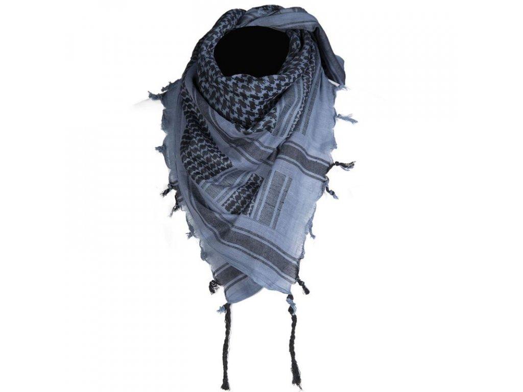 Šátek MIL-TEC SHEMAGH Blue/Black