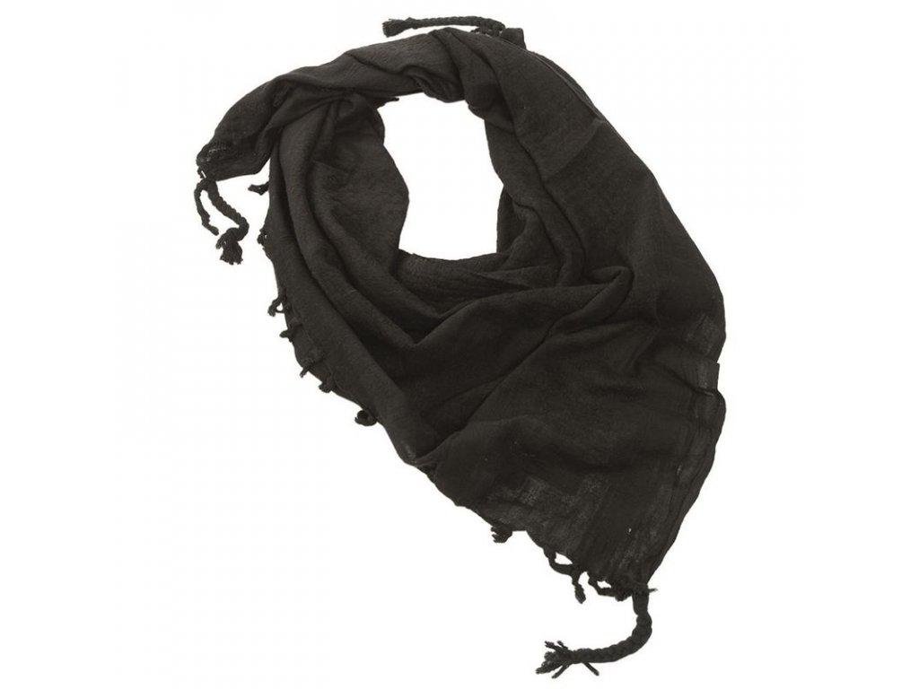 Šátek MIL-TEC SHEMAGH Black/UNI
