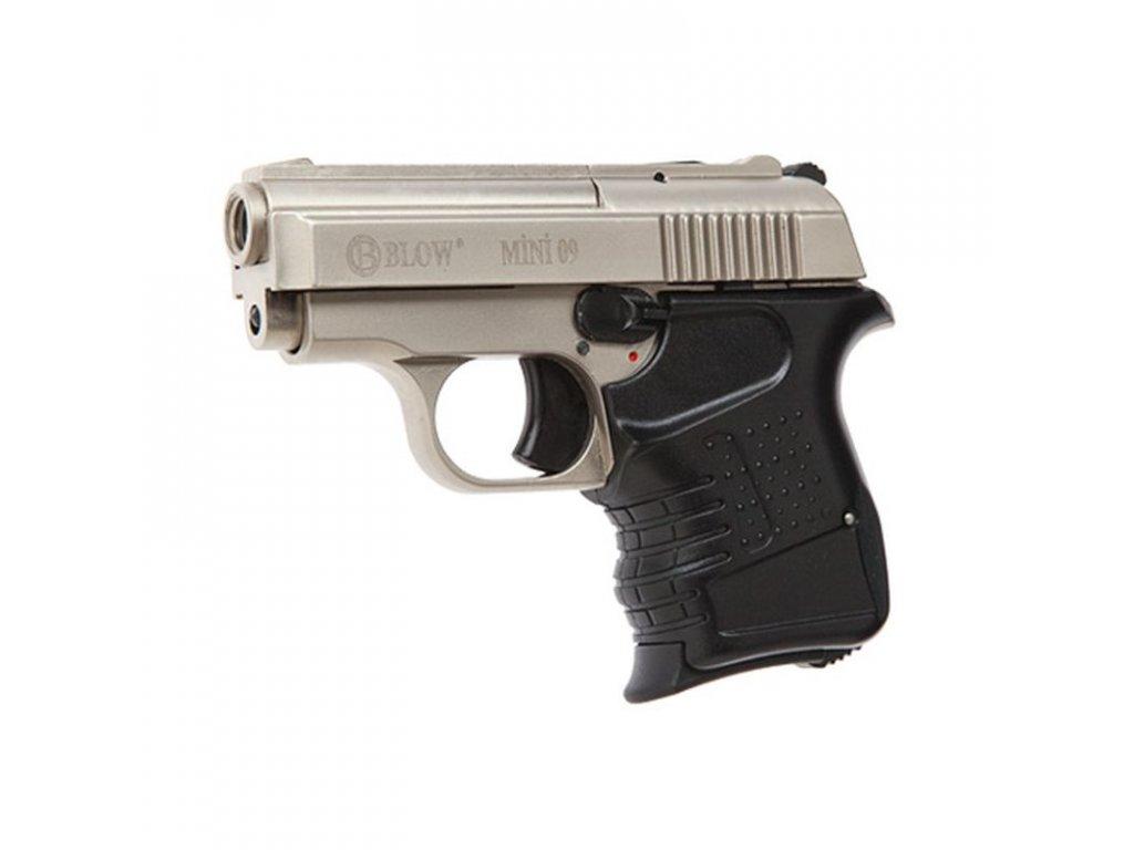Plynová pistole BLOW Mini 9 Satén cal. 9 mm P.A.Knall