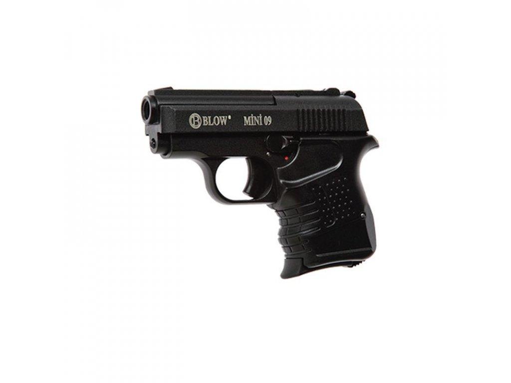 Plynová pistole BLOW Mini 9 Černá cal. 9 mm P.A.Knall