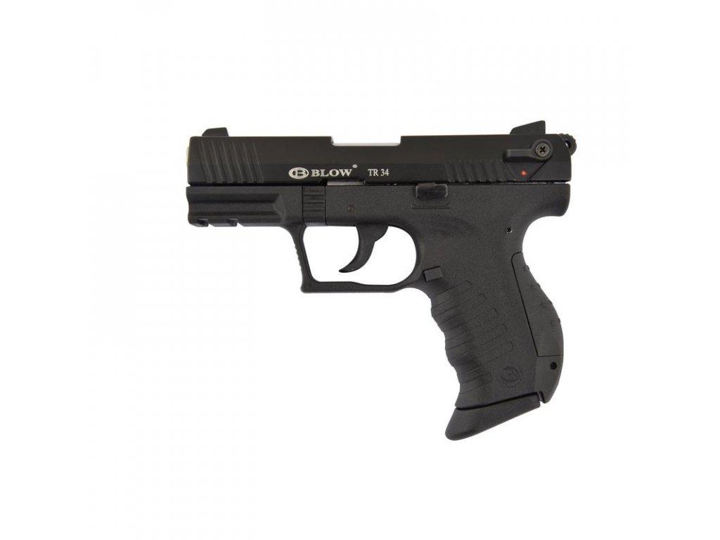 Plynová pistole BLOW TR34 Černá cal. 9 mm P.A.Knall