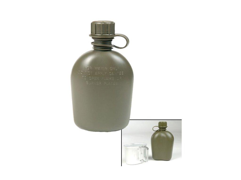 Láhev polní MIL-TEC US Olive