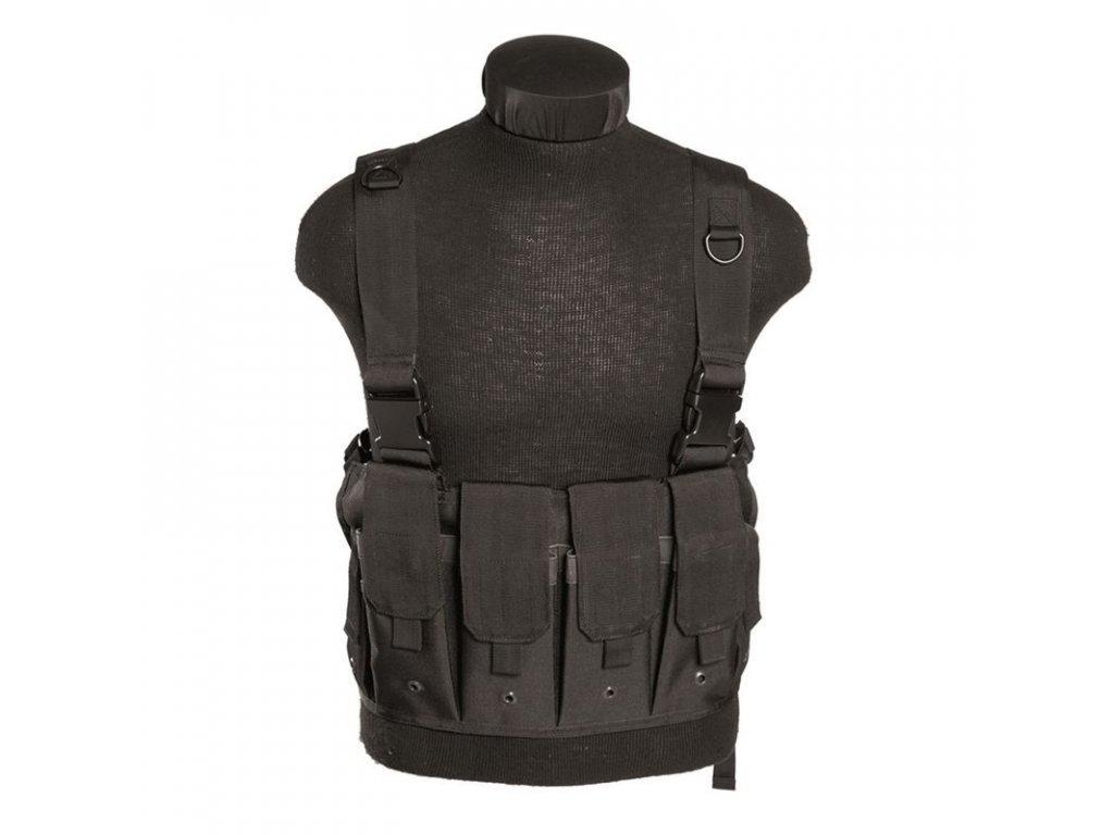 """Taktická vesta MIL-TEC """"bandalír"""" MAG CARRIER Black"""