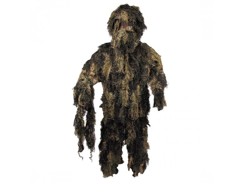 maskovaci oblek ghillie woodland max fuchs