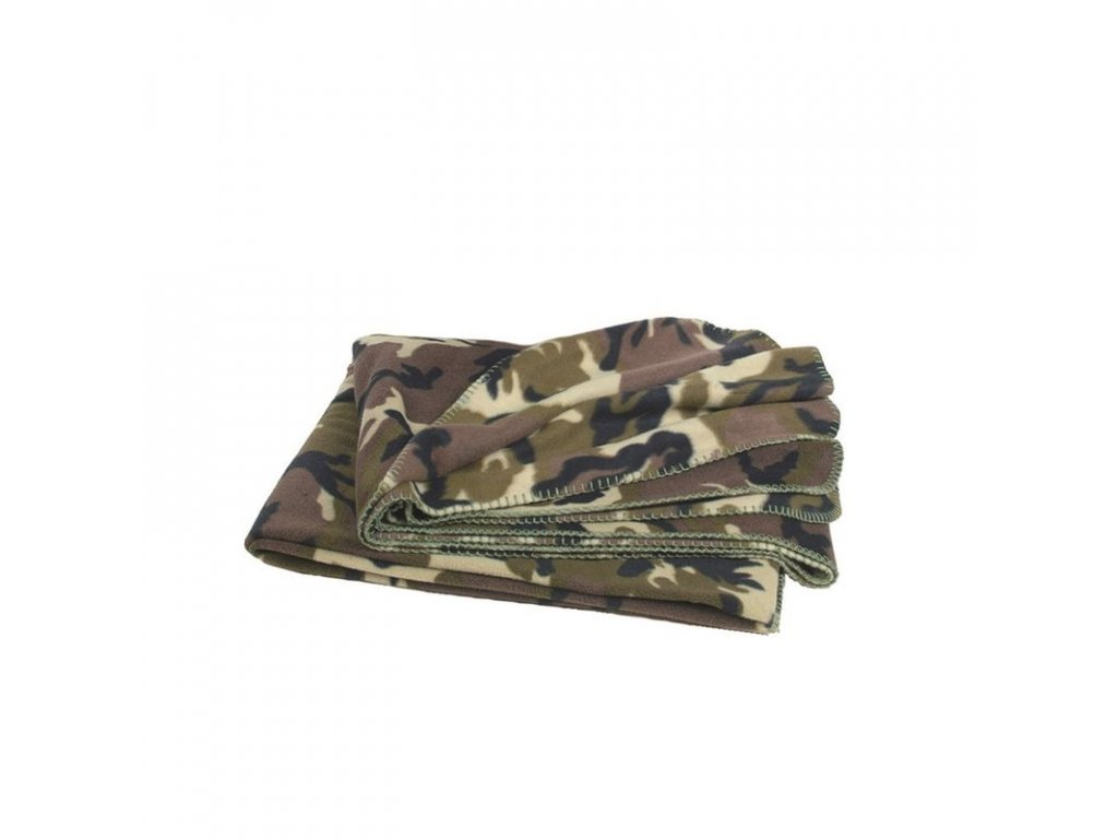 "Deka MIL-TEC ""POLY-FLEECE"" 200 x 150 cm Woodland"