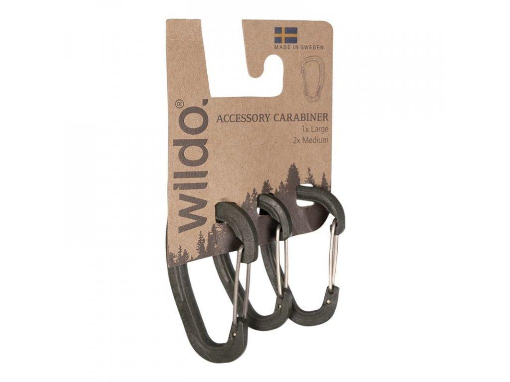 Karabina WILDO® Olive - set 3ks