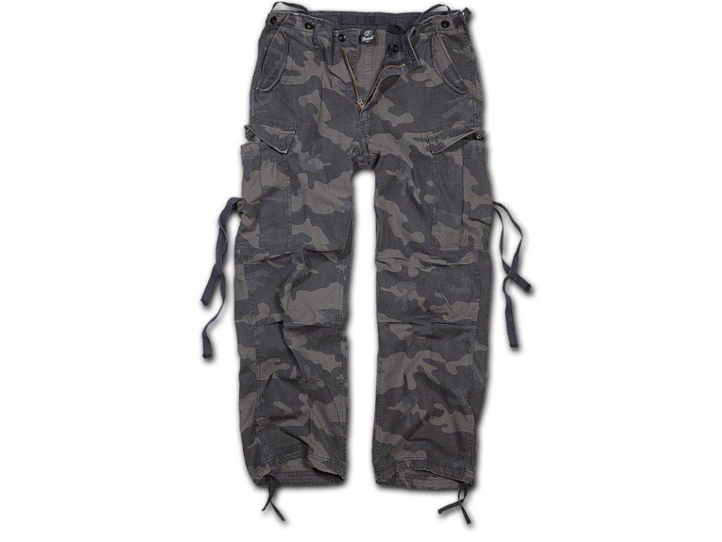 Kalhoty Brandit M65 Vintage Darkcamo
