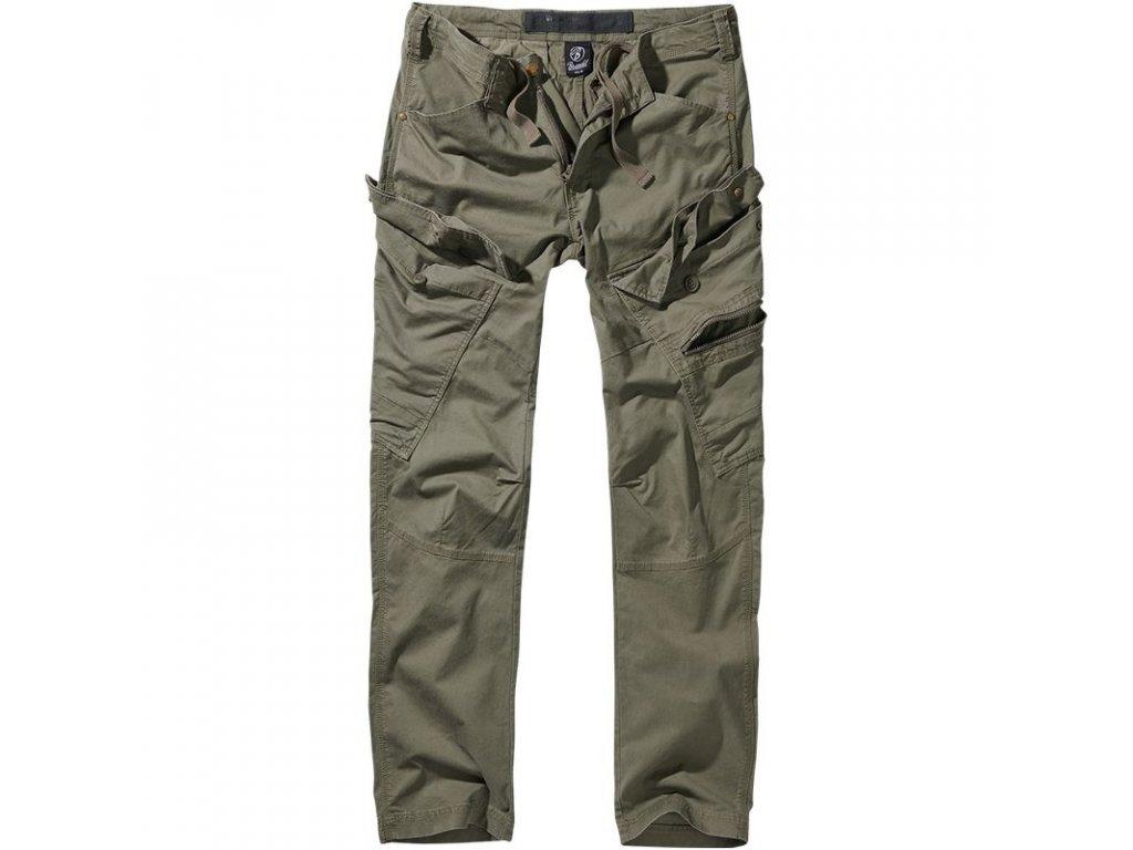 Kalhoty Brandit Adven Slim Fit Olive
