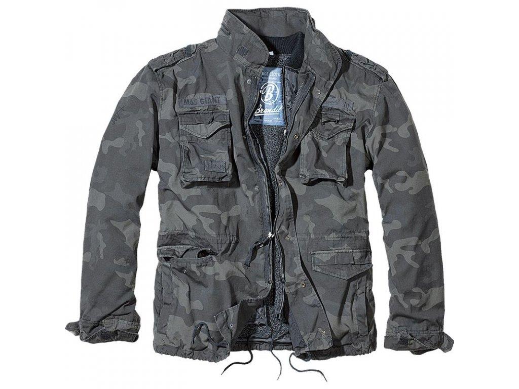 Kabát Brandit M65 VINTAGE GIANT Darkcamo
