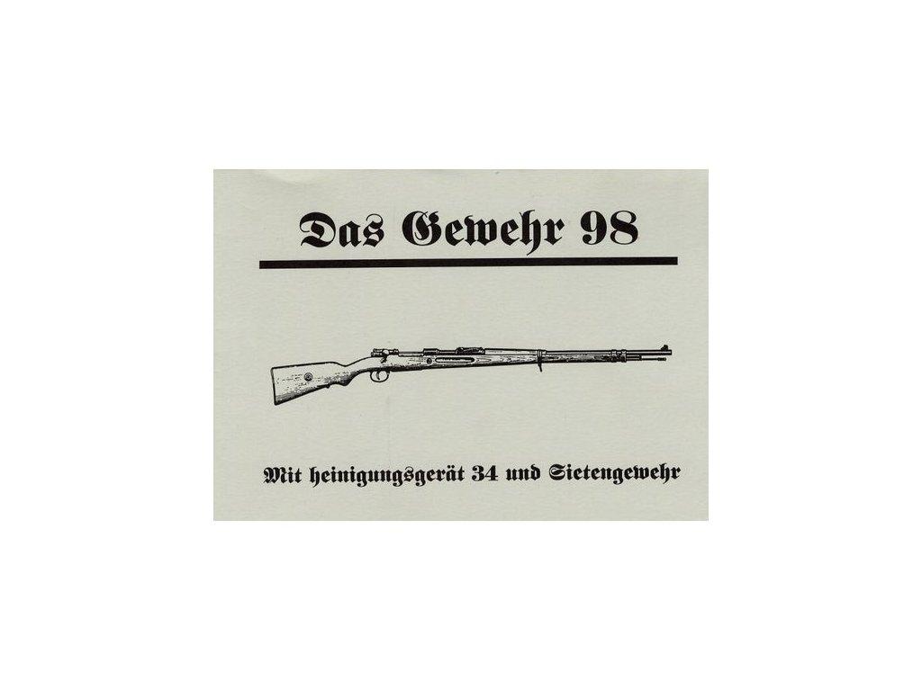 Manuál Das Gewehr 98 - reprint