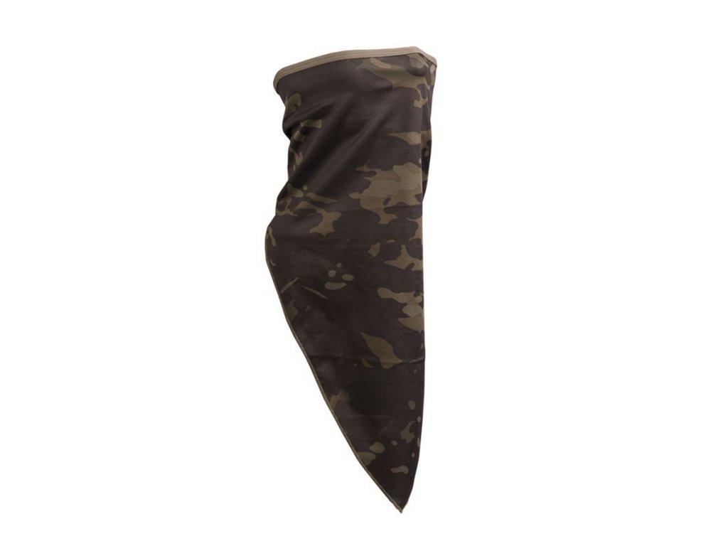 multifunkcni satek scarf face mil tec multitarn black