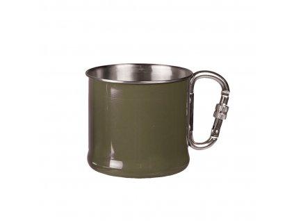 hrnek s karabinou mil tec olive 500 ml