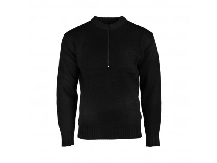 svetr miltec svycarsky vojensky black
