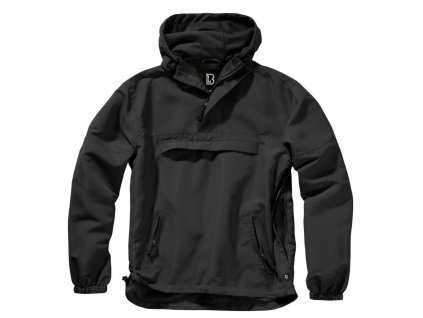 vetrovka black brandit windbreaker summer