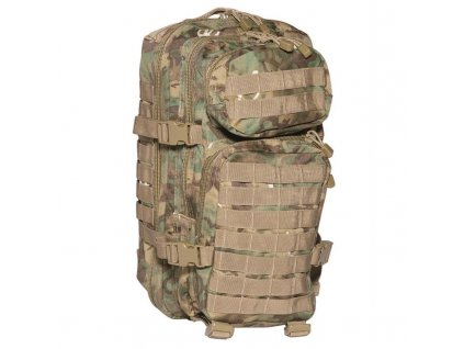 Batoh MIL-TEC US Assault Pack SM 20l Arid-Woodland®