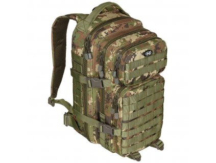 batoh us assault pack 30l vegetato woodland max fuchs