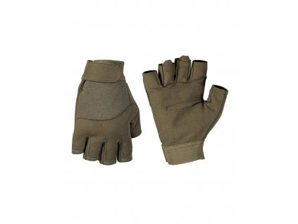 Rukavice MIL TEC Army bez prstu Olive