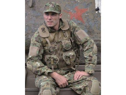 Taktická vesta MIL-TEC 9 kapes Arid-Woodland®