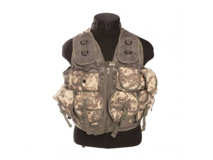 Taktická vesta  9 kapes  AT-Digital