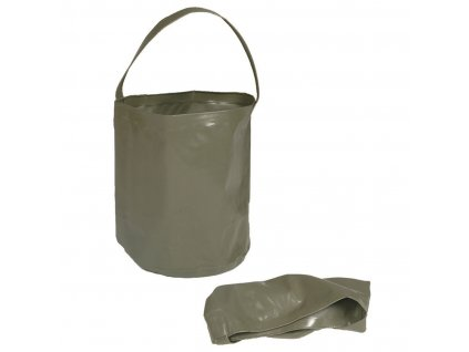 Skládací nádoba MIL-TEC na vodu 10 l Olive
